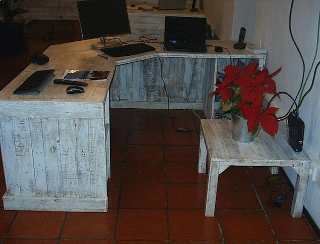 best rustic office desk DIY design and decorating ideas pictures