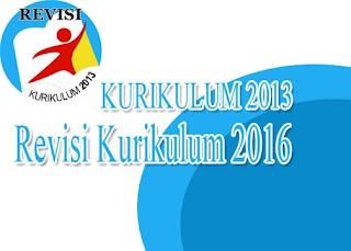 kurikulum 2013 revisi 2016