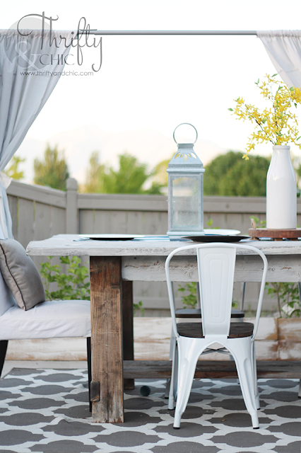 DIY outdoor patio decor and decorating ideas