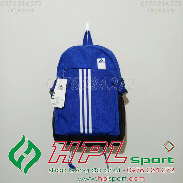 Balo bóng đá đẹp Adidas - 02 màu xanh