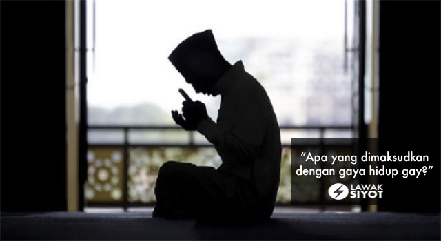 """Baca Al-Quran Setiap Hari, Solat Tak Tinggal Tapi Gay!"""