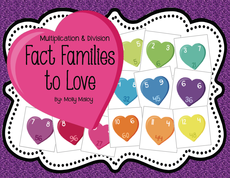 Mini Book Covers Fact Family Flashcards Lessons With