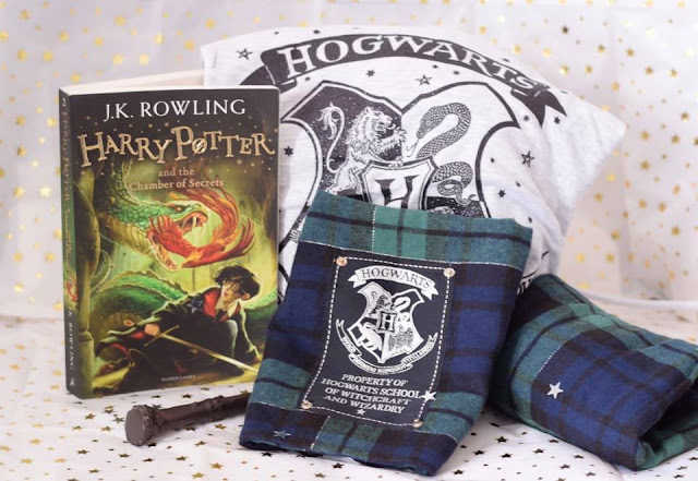 Harry Potter Gifts for Adults - Book, Pjs and wand