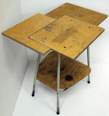 Restauración y reciclaje de mesa