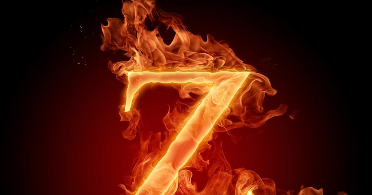 Free Burning Fire Letter Alphabet Naviwall