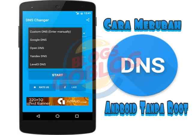 Cara Mengganti / Merubah Settingan DNS di Android (Root Tanpa Root) Terbaru