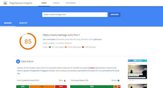 hasil-test-template-viomags-versi-mobile-dengan-google-pagespeedinsight