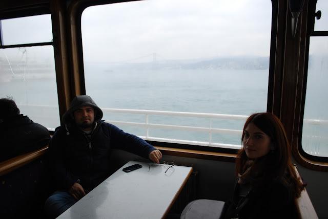 На борту ферри, Стамбул, Турция
