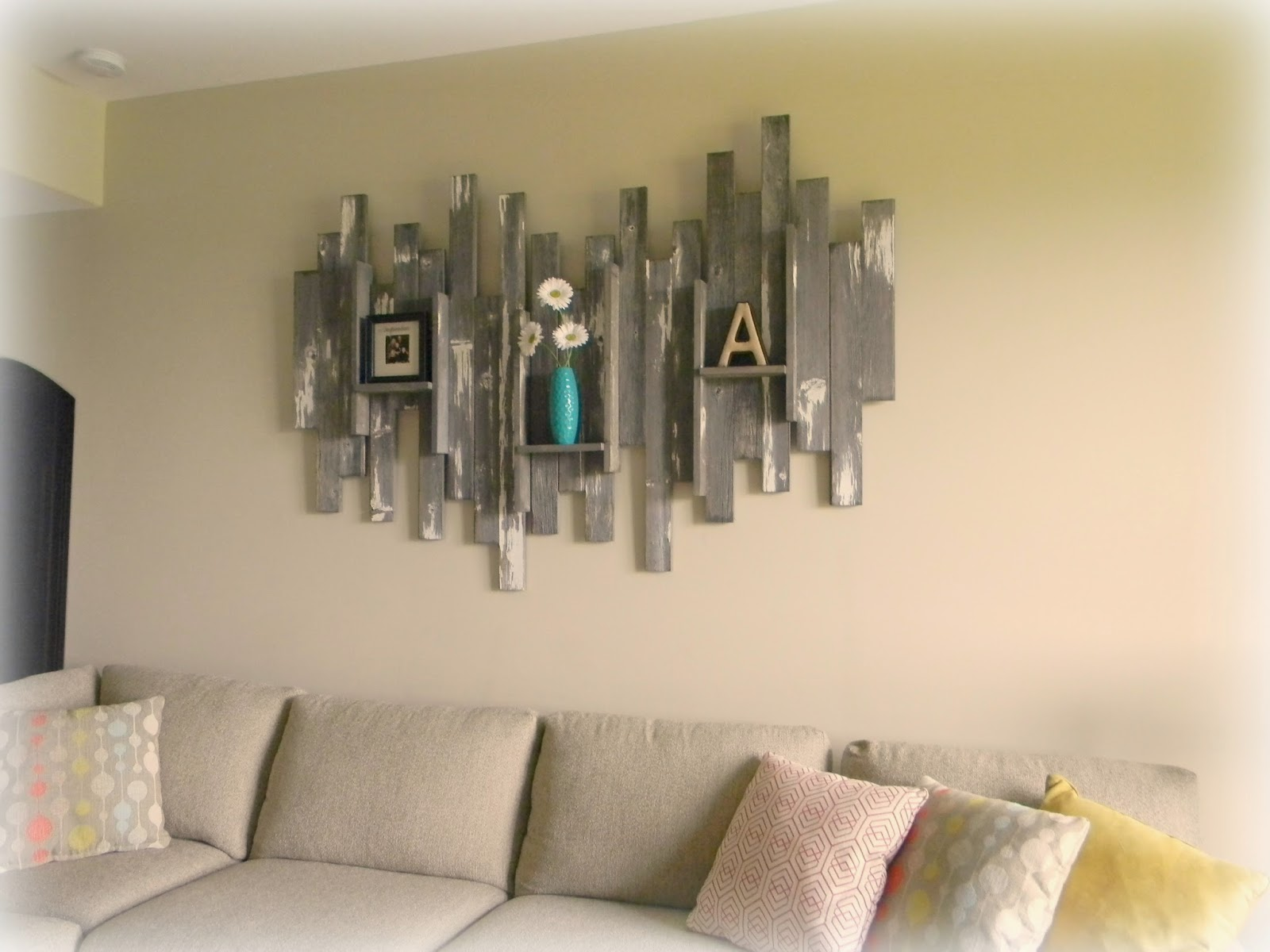Forever Decorating!: Barn Wood Wall Art & Basement