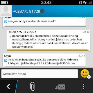 Testimoni Obat Kencing Nanah De Nature Indonesia