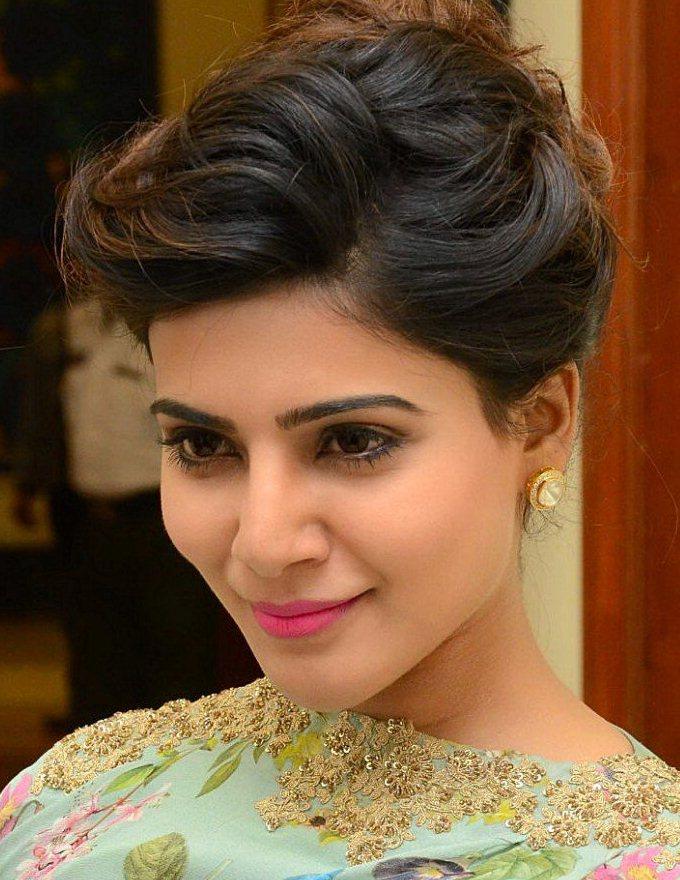 Tamil Actress Samantha Face Close Up Photos Gallery