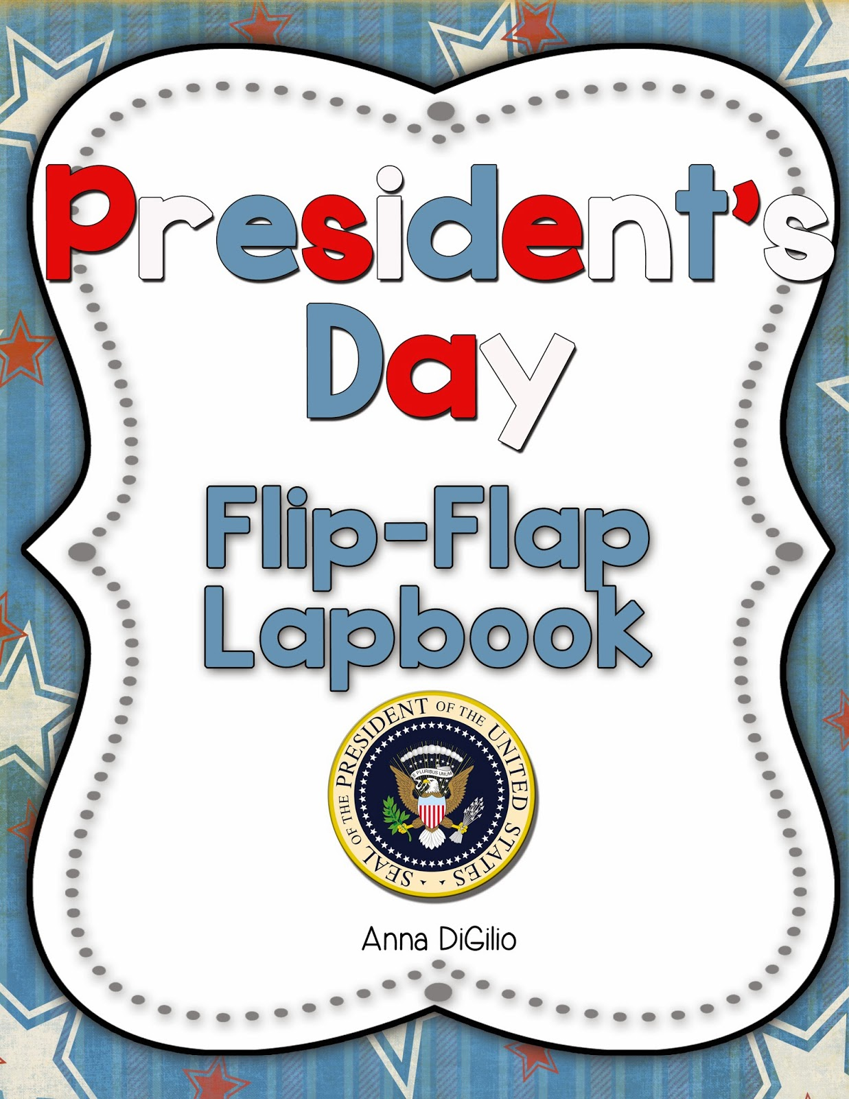 Primary Chalkboard President S Day Fun Freebie Amp A