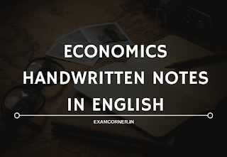 Economics Hand Written Notes
