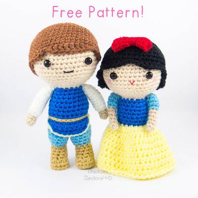 7 Free Disneys Snow White Inspired Crochet Patterns Prajigurumi