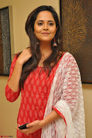 Anusuya in Red at Kalamandir Foundation 7th anniversary Celebrations ~  Actress Galleries 019.JPG