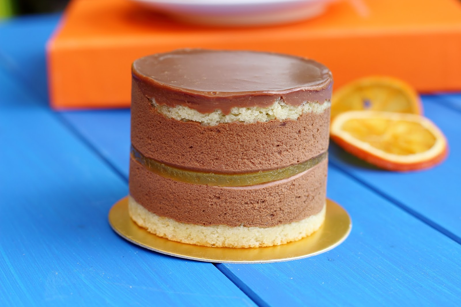 Jaffa Cake Orange Jelly Recipe: Pastry Language: All The Flavours Of Jaffa Cake