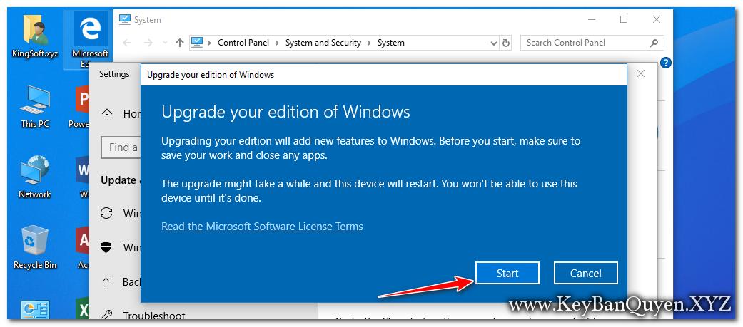 Hướng dẫn nâng cấp Windows 10 Home lên Enterprise