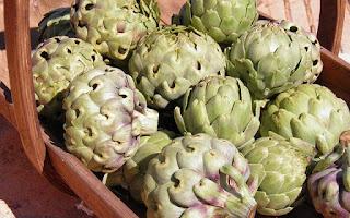 Alcachofas para hígado graso