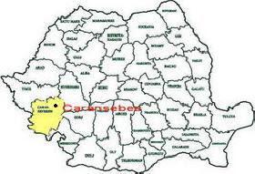 Harta Orasului Caransebes