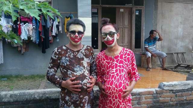 persiapan jalan karnaval pulorejo 3