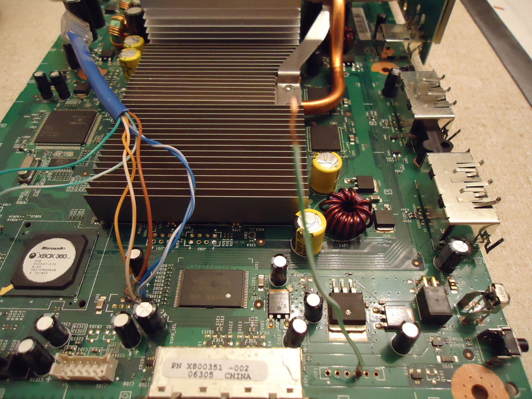 diygaming: jtag an xbox 360: wiring the jtag mod [part 4] xbox 360 headset mic wiring diagram