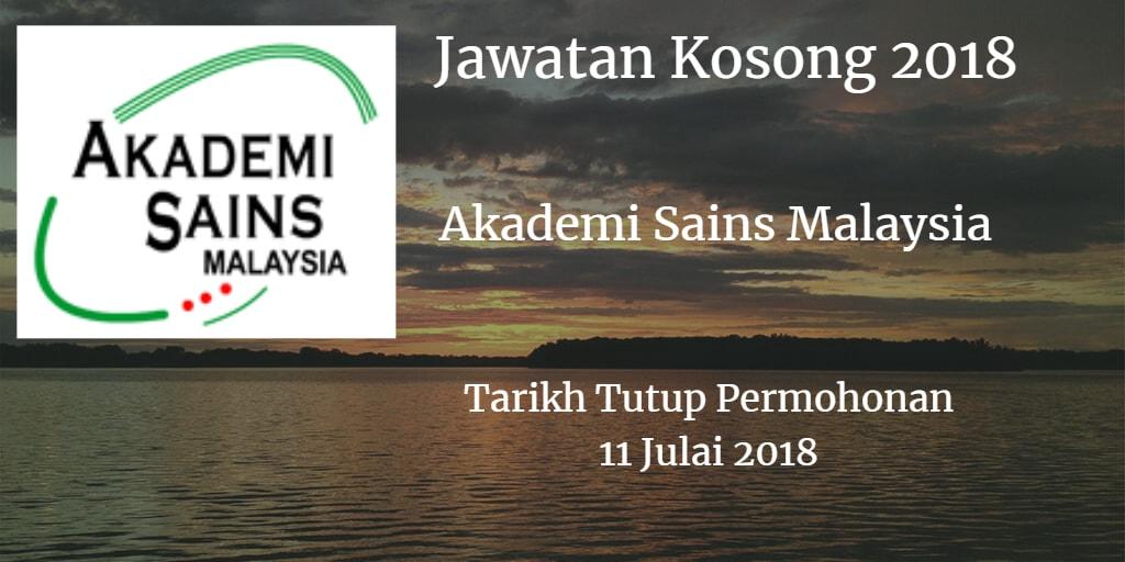 Jawatan Kosong ASM 11 Julai 2018
