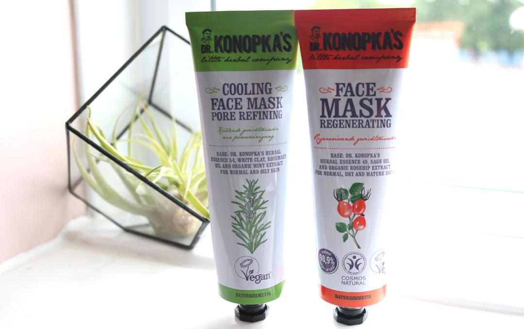 Dr. Konopka's Cooling Pore Refining Face Mask & Regenerating Face Mask