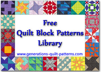 Generations free quilt block patterns library