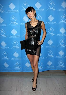 Bai Ling In A Little Black Dress