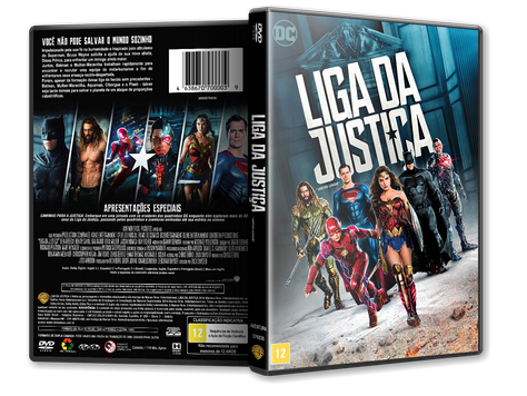 Capa DVD Liga da Justiça [Custom]