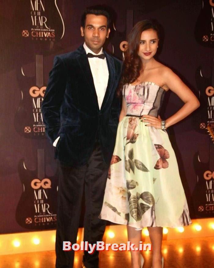 Raj Kumar Rao, Red Carpet Pics of GQ Men Of The Year Awards 2014
