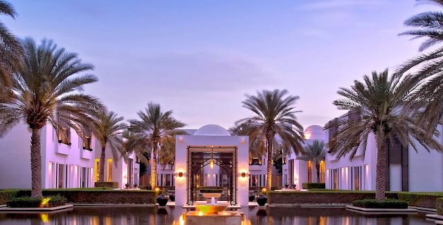 The Chedi Muscat, Water Garden