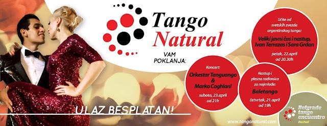 Besplatni događaji na 7. Beogradskom tango susretu