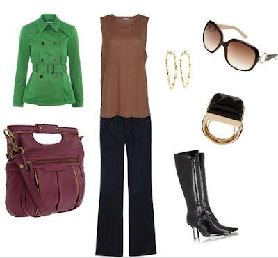 Blog Achados de Moda, Como usar e combinar marrom na roupa