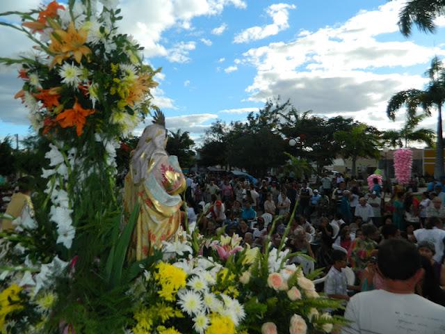 Resultado de imagem para imagens da procissão de sant'ana na cidade do congo na paraiba