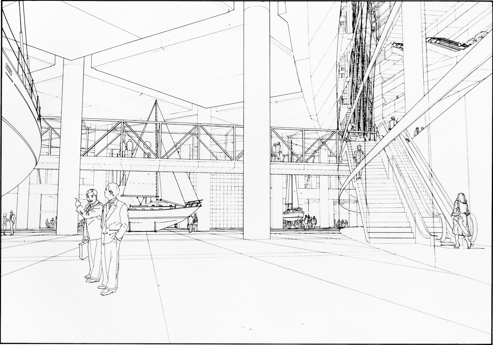 Beyond Architectural Illustration Hand Amp Cad
