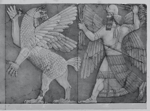 deus marduk, deusa tiamat, mitos, babilônia