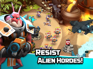 Download Alien Creeps TD V2.1.1.0 Apk MOD 4