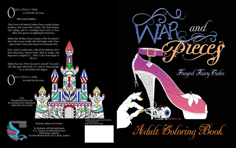 Jo Michaels Blog: Goodreads Giveaway - War and Pieces Coloring Book