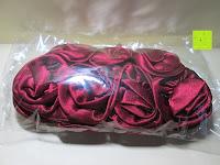 Verpackung: Sumolux Elegante Handtasche Tasche Partytasche Abendtasche Tasche für Frauen Tasche für Damen Weinrot