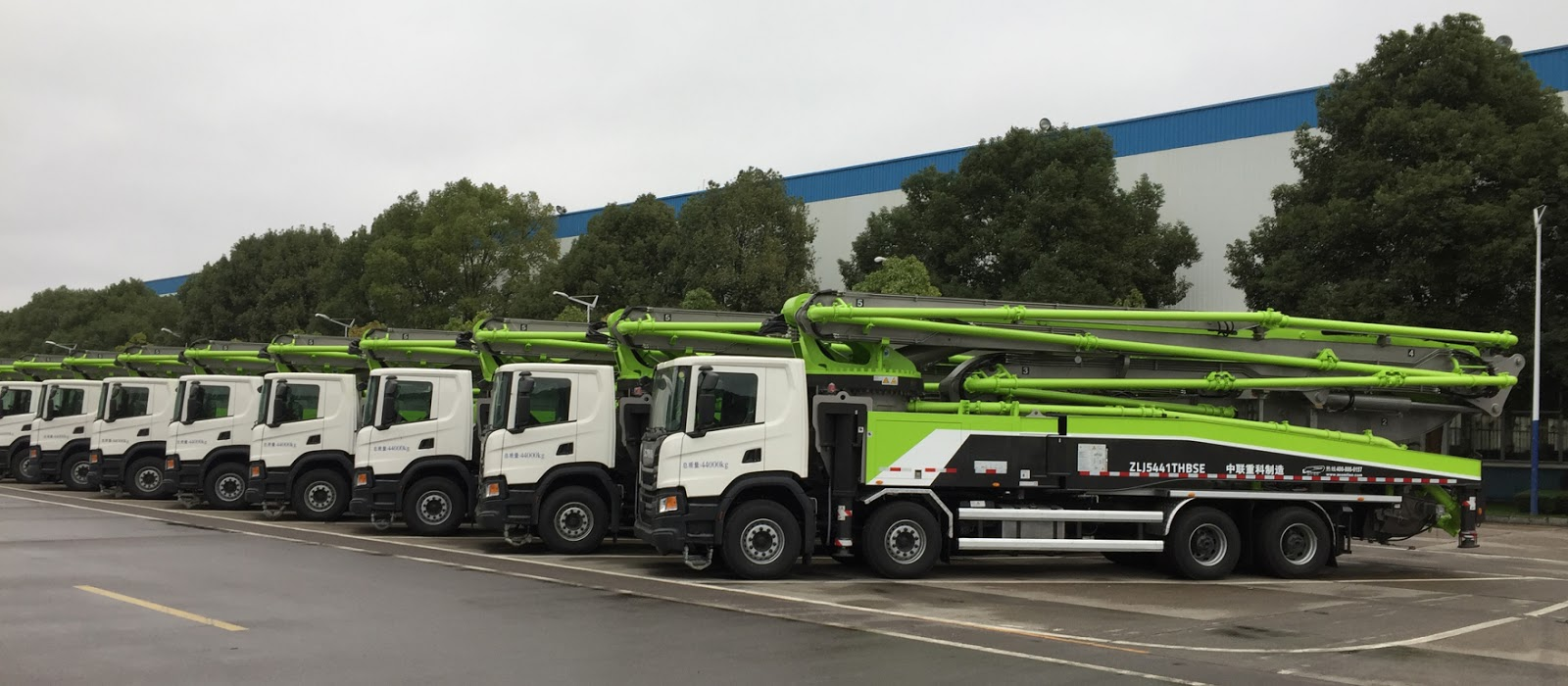 b697c0c0 Scania delivers 520 vehicles for Zoomlion's truck mounted pumps ...