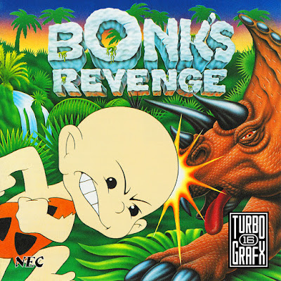 BONK'S REVENGE (NEC PC ENGINE)
