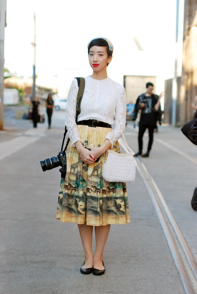 MBFWA 2013 Street Style Blogger Nora Nora Finds
