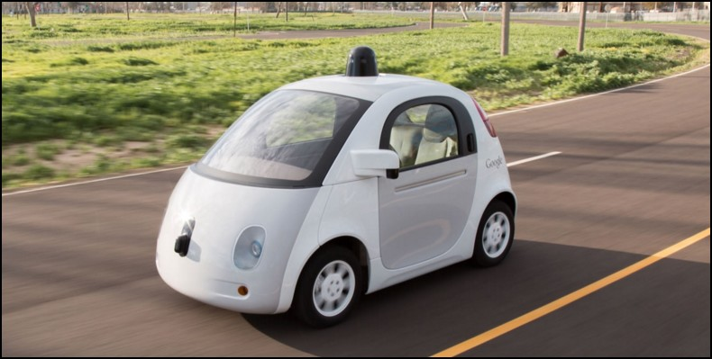Carro do Google é parado por policial