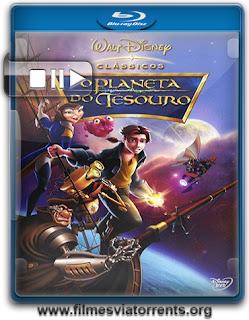 Planeta do Tesouro (Treasure Planet) Torrent - BluRay Rip