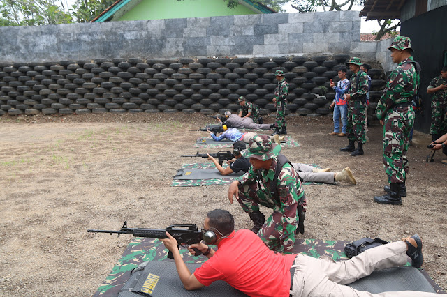 Komandan Brigif R 13 Kostrad Resmikan Lapangan Tembak Pistol di Tasikmalaya