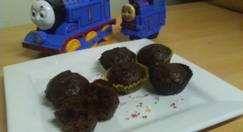Muffin Coklat Pisang