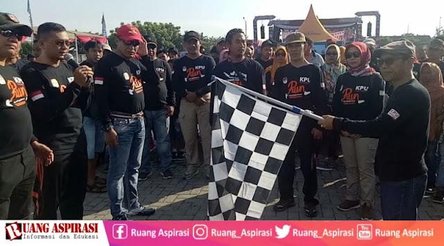 Ajak Masyarakat Tidak Golput, KPU Gelar Pemilu Run 2019