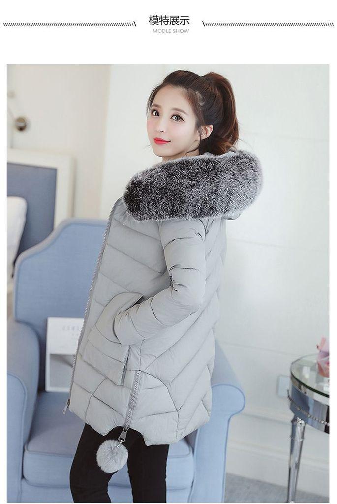 JAKET DOWN COAT IMPORT KOREA - JAKET WINTER BULU