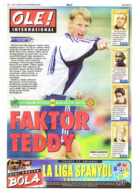 FAKTOR TEDDY SHERINGHAM